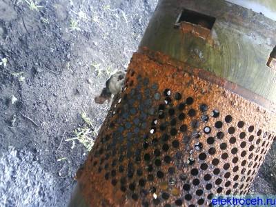 электрически глубинный насос с крысой